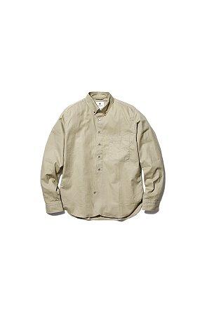 OG Cotton Poplin BD Shirt 스노우 피크 코튼 팝핀 BD 셔츠 베이직