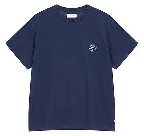 [ESSENTIAL] 레터링 웨이브 티셔츠