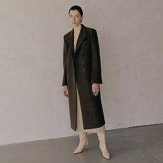 Classy Maxi Wool Coat_Brown