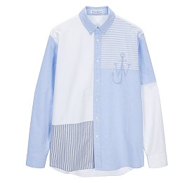 [JW Anderson] 스트라이프 패치워크 마린 셔츠 (남성)
