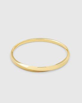 [Tom Wood] Infinity Bangle Gold