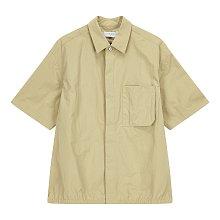 [CASUAL] 나일론 쇼트 오버핏 셔츠