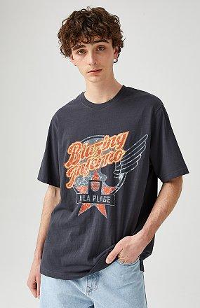 [MEN] 빈티지 그래픽 티셔츠
