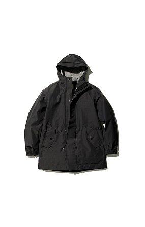 eVent C/N Rain Jacket 스노우피크 이벤트 씨앤 레인자켓 블랙