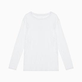 남 크루넥 솔리드 티셔츠