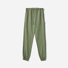 HEAVY WEIGHT CLASSIC SWEATPANTS (Premium BASIC)-WASHED GREEN