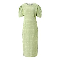 Crinkle one-piece - Pea green