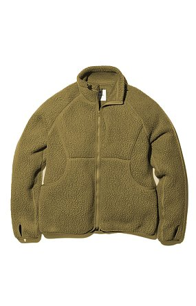 Thermal Boa Fleece Jacket 스노우피크 써머보아플리스자켓 올리브