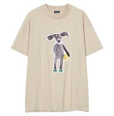 [Jacquemus] 뚜뚜 그래픽 티셔츠