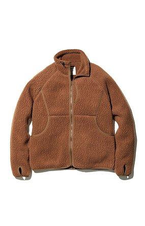 Thermal Boa Fleece Jacket 스노우피크 써머보아플리스자켓 브라운