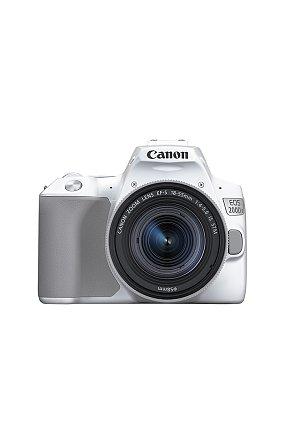 캐논 정품 DSLR 렌즈킷 EOS 200D II 18-55 KIT (White)