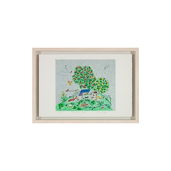 이왈종, 제주 생활의 중도 (나무와 집)