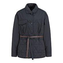 리슨 벨티드 퀼팅 다운 자켓