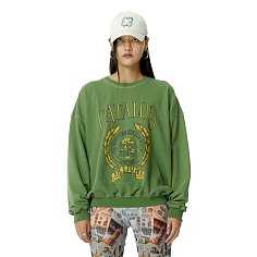 College Pullover Green