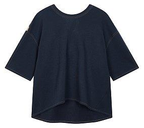 백 리본 티셔츠