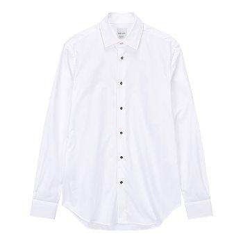 멀티 하우스 패턴 버튼업 셔츠