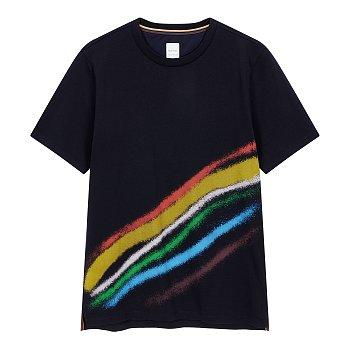 스프레이 레인보우 티셔츠