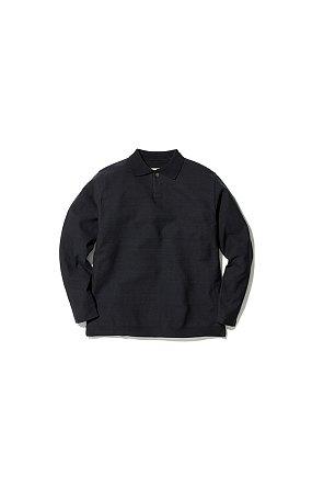 Co/Pe Dry Polo Shirt 스노우 피크 드라이 폴로 셔츠 블랙