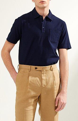 원 포켓 피케 폴로 셔츠