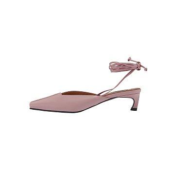 RM3-SH008 / Piping Strap Kitten Heels