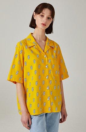 옥수수깡 프린트 셔츠