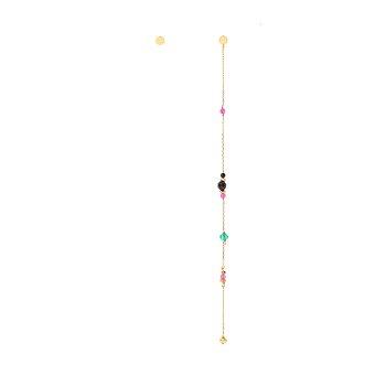 [박시연 착용] BONBON Gemstone Drop Earrings_MULTI