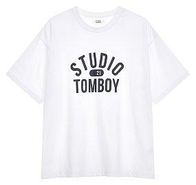 스튜디오 톰보이 로고 티셔츠