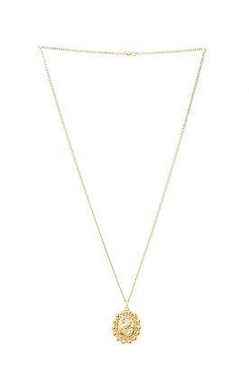 [Cristina Junquero] Happy Camafeo Pendant Necklace
