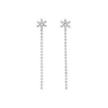 [혜리 착용] Holiday Snowflake Drop Earrings