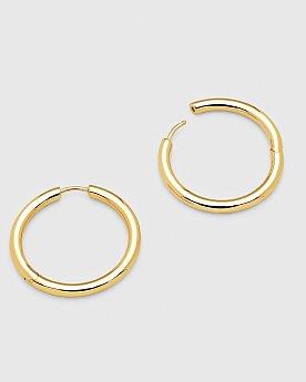 [Tom Wood] Classic Hoop Large Gold