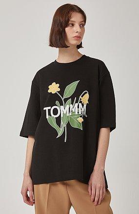 TOMMM프린트 티셔츠