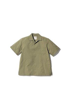 Quick Dry Aloha Shirt 스노우 피크 드라이 알로하 셔츠 올리브