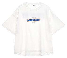 그래픽 포인트 티셔츠