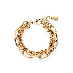 EVA double chain bracelet