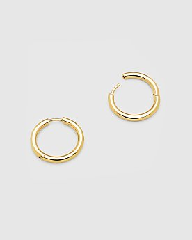 [Tom Wood] Classic Hoop Medium Gold