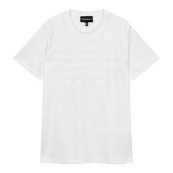 [주니어 남아] 이글 로고 크루넥 티셔츠 [10세 이상]