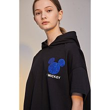 [V MICKEY] 미키 참 그래픽 후드 티셔츠
