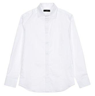 [FORMAL] 와이드 화이트 셔츠