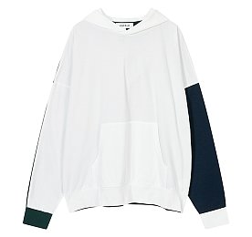 [Enfold] 컬러 블록 후드 티셔츠