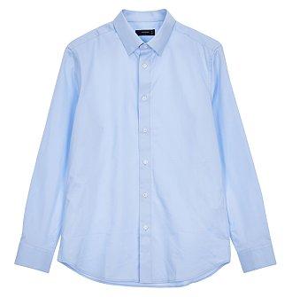 [FORMAL] 솔리드 블루 셔츠