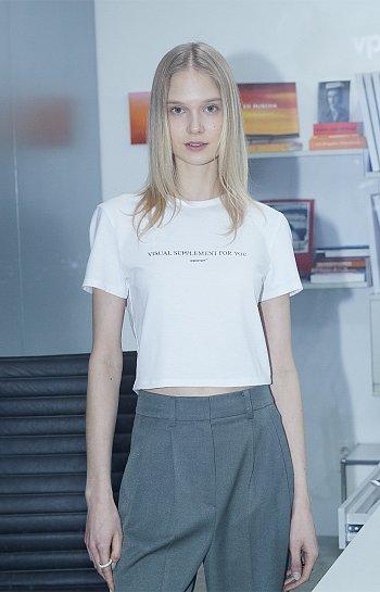 ★1차 리오더★[카인다쿨 착용] VPMT 크롭 티셔츠