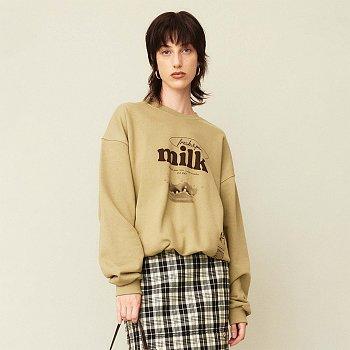 Milk Pullover Khaki