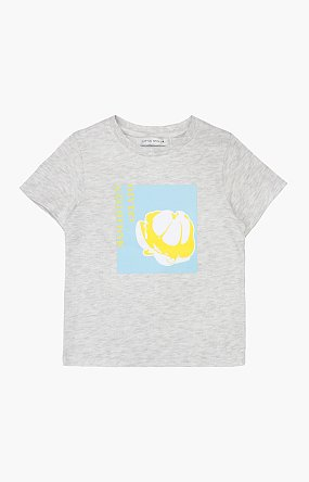 망고스틴 프린팅 반팔 티셔츠