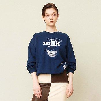 Milk Pullover Navy