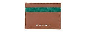 [MEN] 배색 포인트 카드 지갑