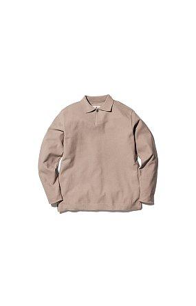 Co/Pe Dry Polo Shirt 스노우 피크 드라이 폴로 셔츠 베이지