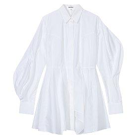 [Enfold] 벌룬 슬리브 플레어 셔츠