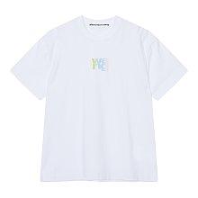 그라데이션 엠보 로고 티셔츠