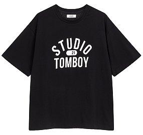 스튜디오톰보이 로고 티셔츠