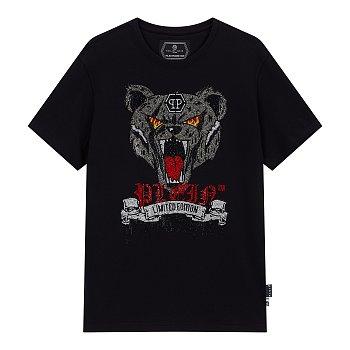 핫피스 베어 페이스 반팔 티셔츠
